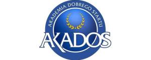 Ikona wpisu: na białym tle logo firmy Akademia Dobrego Startu AKADOS