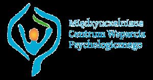 Logo MCWP Grafika przedstawia logo z napisem Międzyuczelniane Centrum Wsparcia Psychologicznego